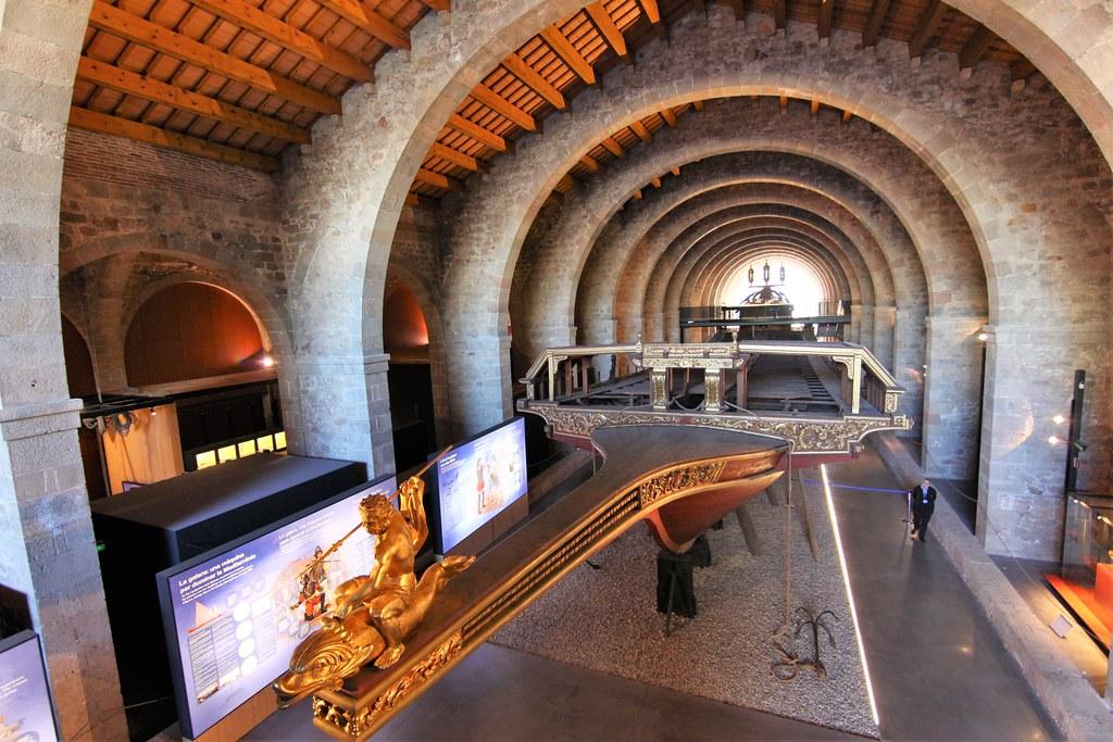 מוזיאון ימי בברצלונה